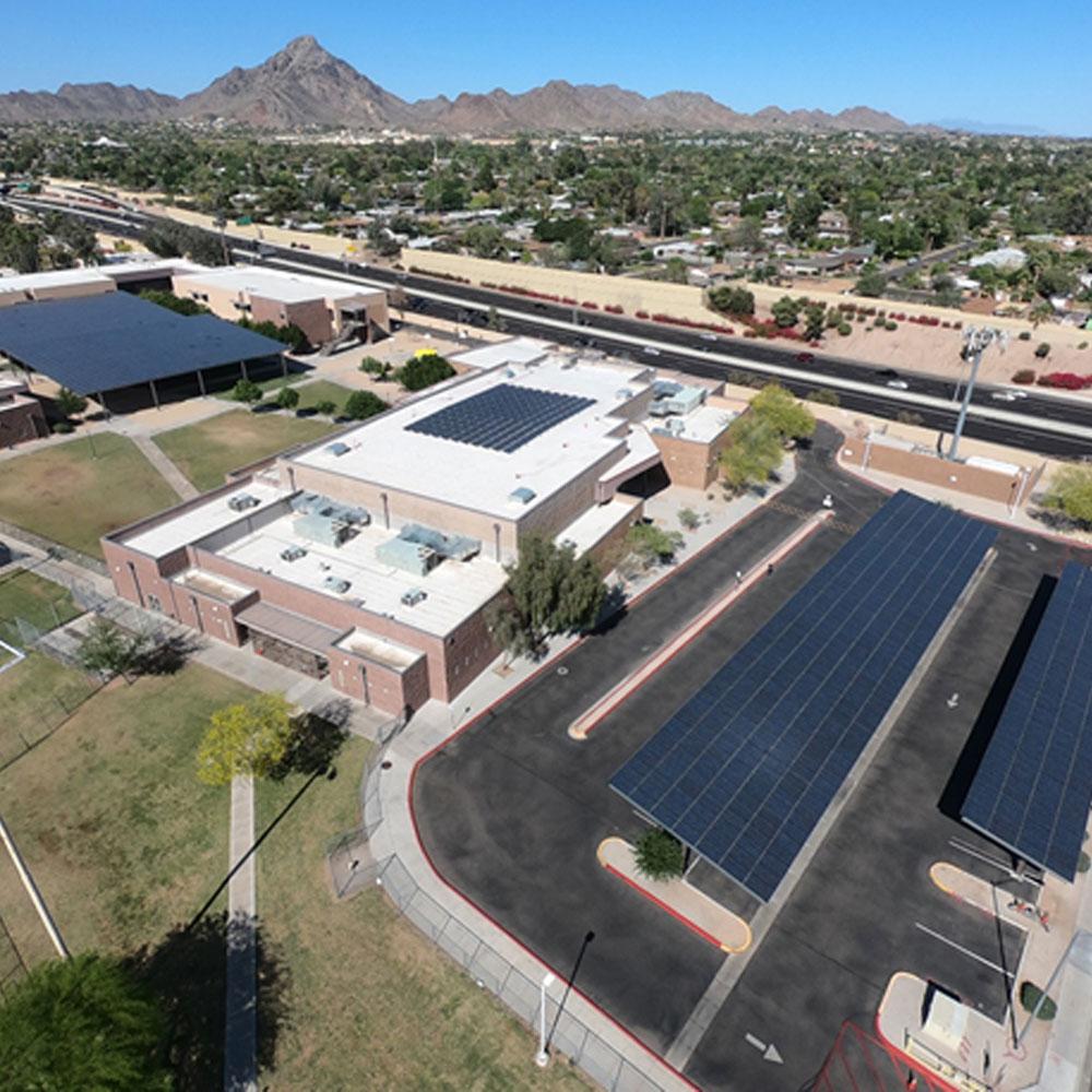 Solar installation for Madison School District