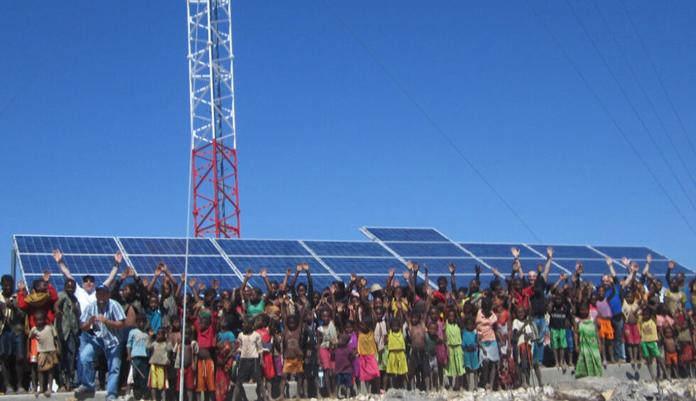 Madagascar Orange Telecom solar site by ISC