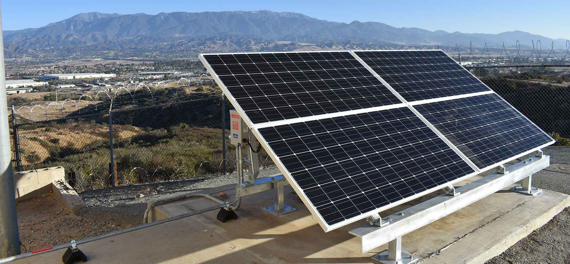 Solar Engineering Procurement and Construction work for the FAA from Industrial Solar Consulting