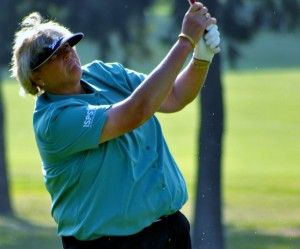 England's Laura Davies will be playing