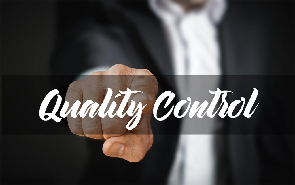 businessman, control, quality control