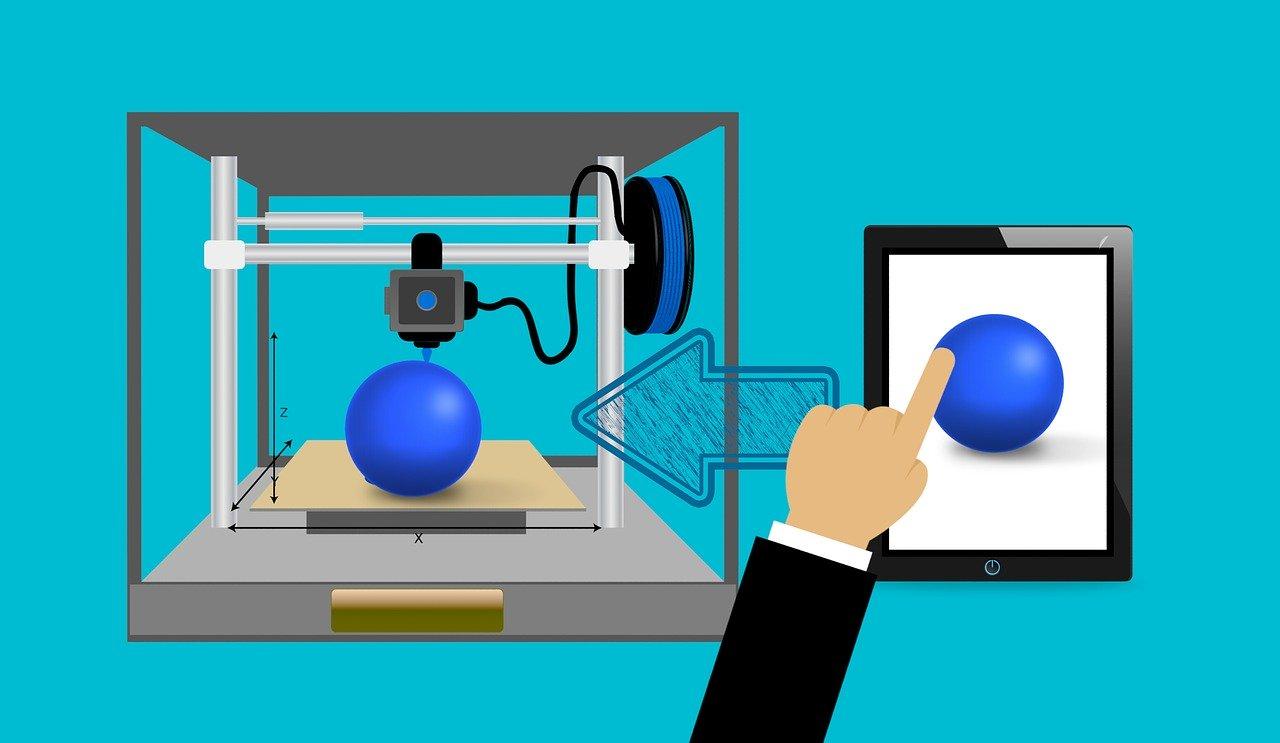 printer, 3d, technology