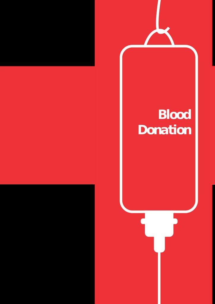 blood donation, campaign, poster