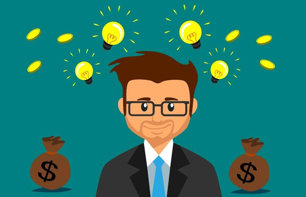 money, idea, business