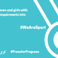 #WeAreSport aims to inspire women and girls with an intellectual into sport