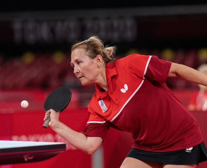 Elena Prokofeva (RPC) in action