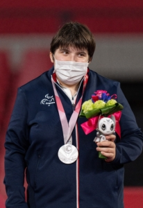 Lea Ferney wins Silver at Tokyo 2020