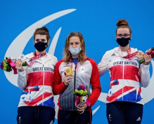 Medallist 200m Freestyle Women