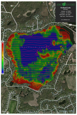 Inland Lake Mapping utilizing biobase technology