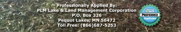 PLM Lake and Land Management Corp applies Clearcast