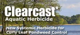 Curly Leaf Pondweed Control with Clearcast