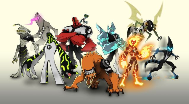 Ben 10 facts All the DNA aliens from the original series