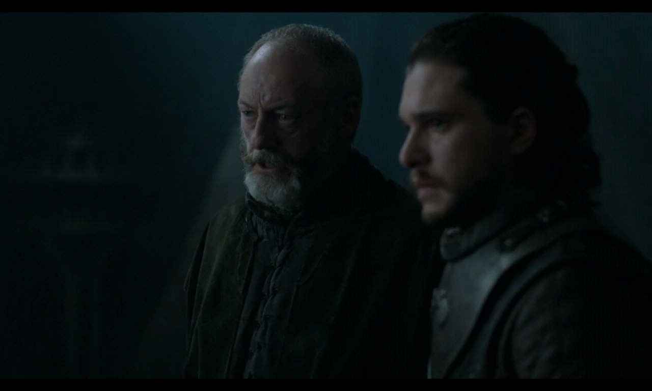 Davos talking with Queen Daenerys Game of Thrones Season 7: 5 Easter Eggs you missed in The Queen's Justice