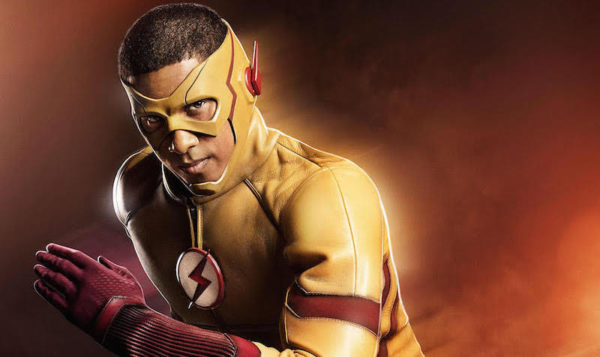 Kid Flash from the Flash Season 3