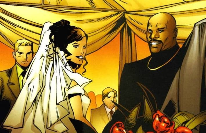 Luke Cage and Jessica Jones Wedding