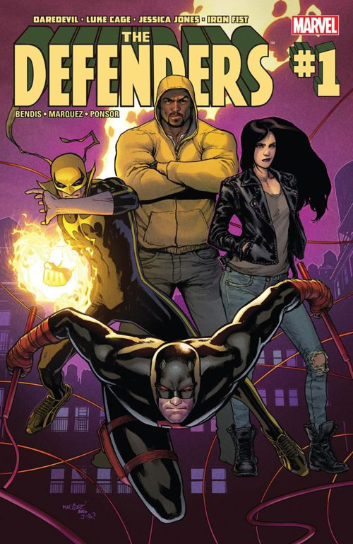 The Defenders comics issue #1