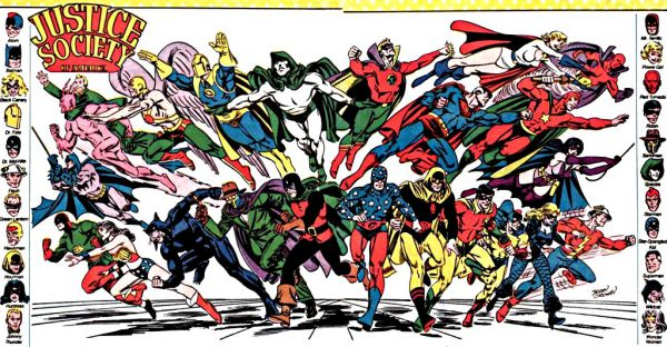 Earth 2 Justice League of America