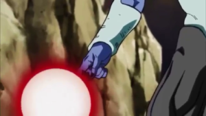 Frost betraying Frieza in dragon ball episode 108