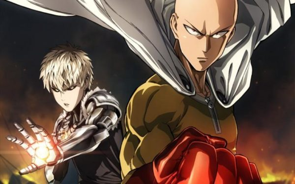 Saitama and Genos in One punch man