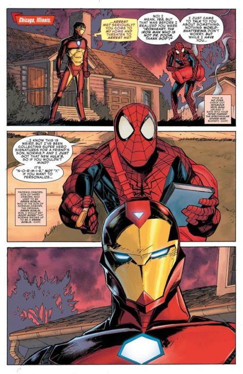 Spider-Man and Ironheart