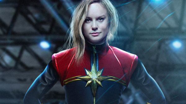 Brie Larson as Carol Danvers as Captain Marvel