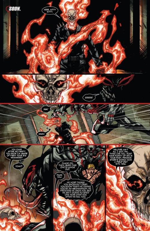 Ghost rider use penance starring on Venom