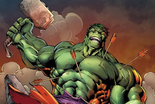Hulk Who Can Lift Thor's Hammer