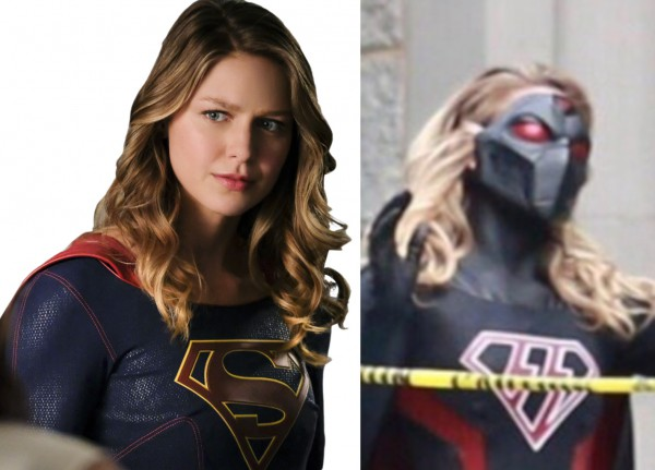 Melissa Benoist as Supergirl and Overgirl from Earth-X