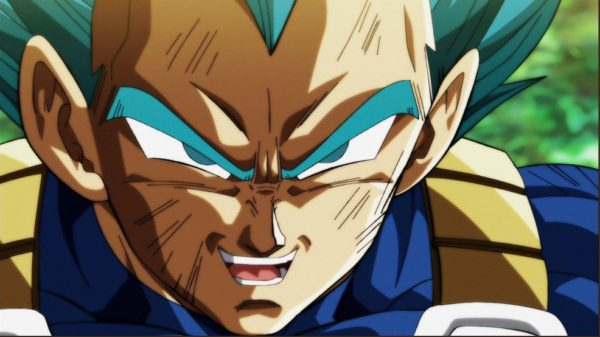 Dragon Ball Super episode 122 preview image of Super Saiyan Blue Vegeta