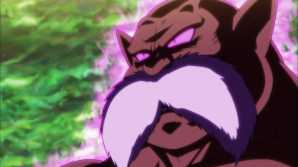 Toppo unleash his God of Destruction energy