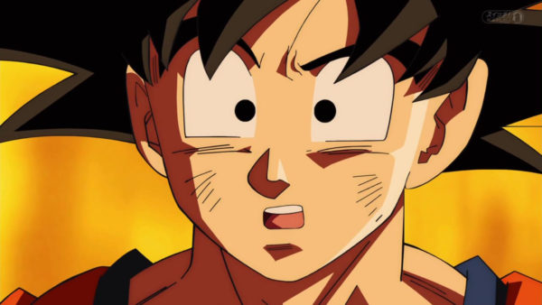 Goku in Dragon Ball Super ending in March