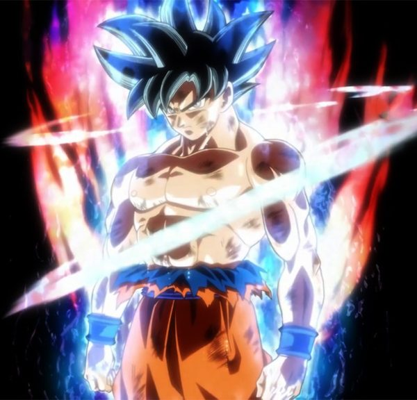 Mastered Ultra Instinct Goku form
