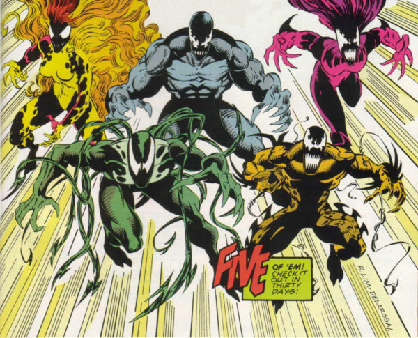 Five Alien Symbiote the Life Foundation