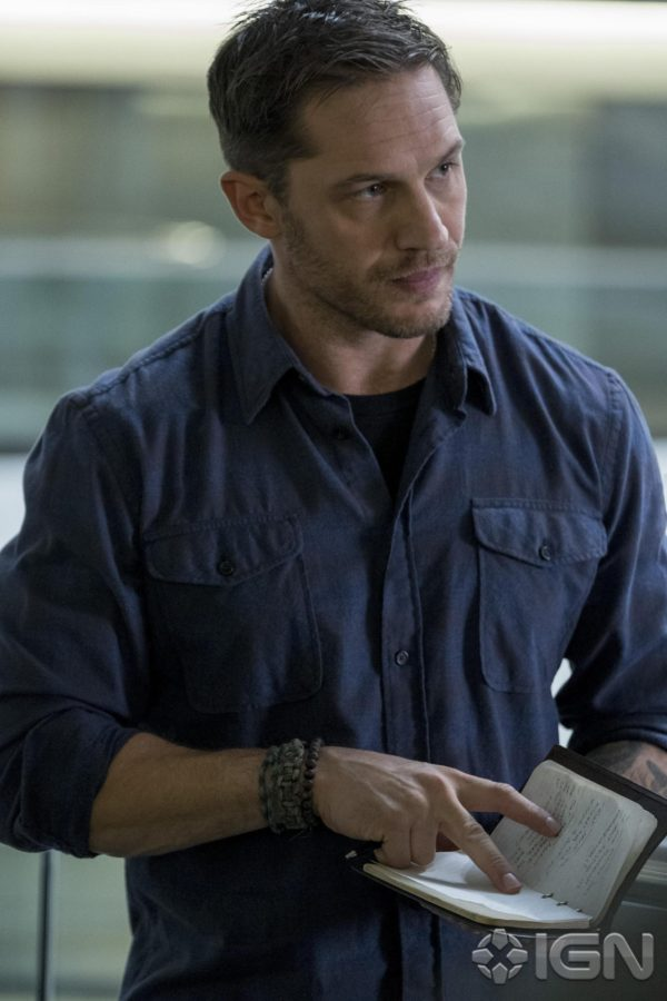 First look at Tom Hardy as Eddie Brock from Venom