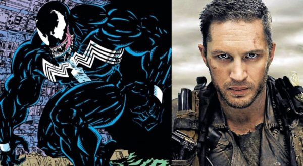 Tom Hardy as Eddie Brock in Venom 2018
