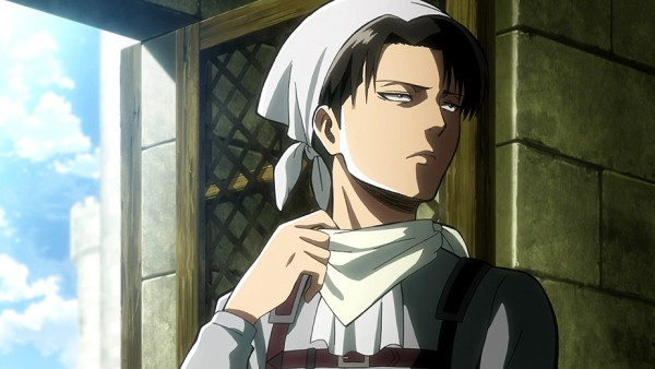 Levi on Attack on Titan Season 2