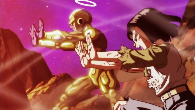 Android 17 and Frieza together in Dragon Ball Super 131