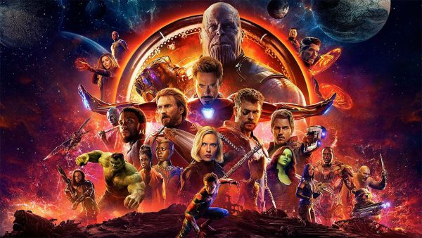 New Poster of Avengers Infinity War