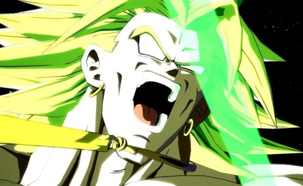 Broly in Dragon Ball FighterZ game