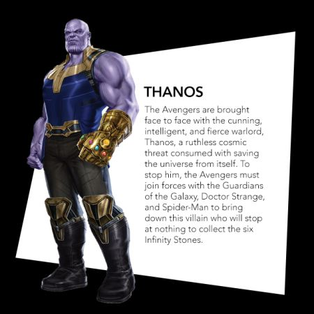 Josh Brolin as Thanos toy