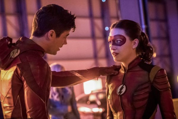 Barry Allen and Jesse Quick in Enter Flashtime