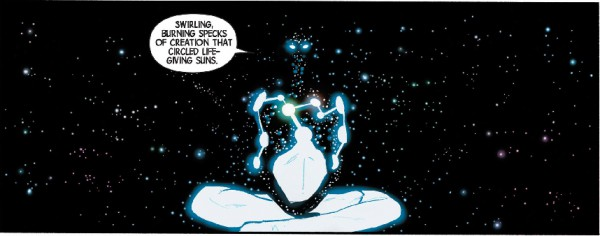 Captain Universe marvel's god