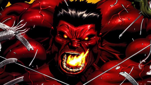 Red Hulk strongest marvel villain