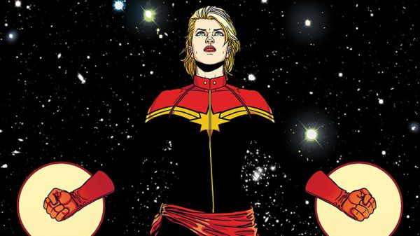 Captain Marvel cosmic awareness