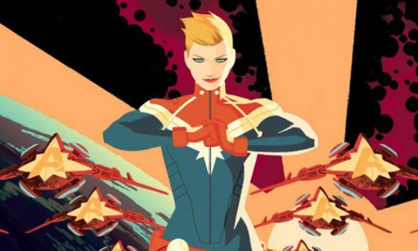 Captain Marvel healing powers