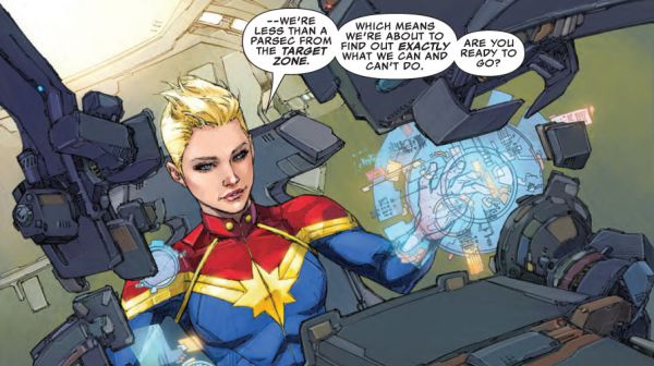 Captain Marvel sixth sense powers