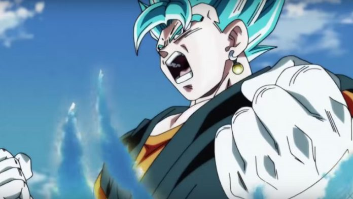 Super Saiyan Blue Goku Dragon Ball Heroes