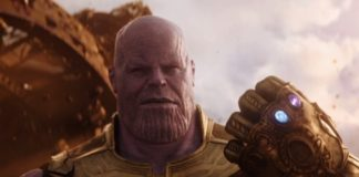 Thanos marvel supervillain