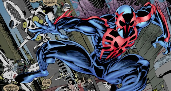 Spider-Man 2099 suit