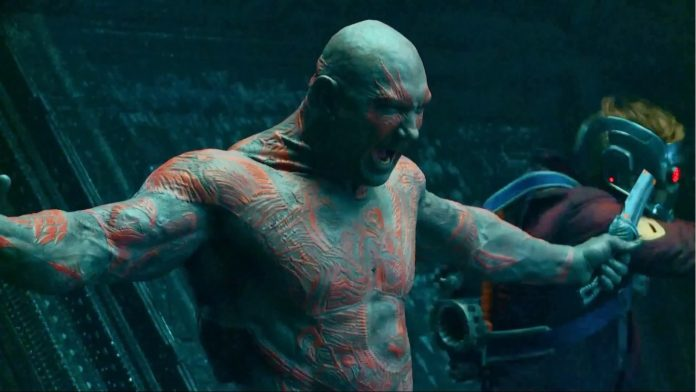 Drax weak MCU superhero